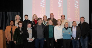 Leaders of arts institutions at the kick-off for THAW FEST