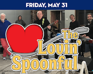 The Lovin' Spoonful performs at The Suffolk Theater