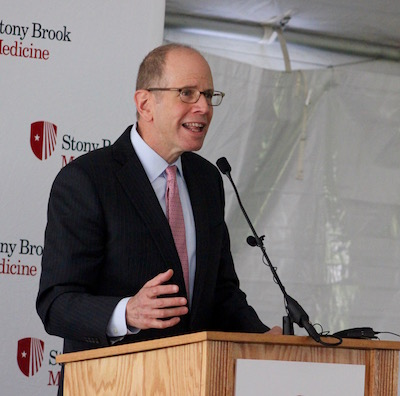 Stony Brook Southampton Hospital Chief Administrative Officer Robert Chaloner