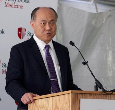 Phillips Family Cancer Center Medical Director Dr. SAmuel Ryu.