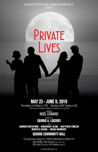 "Hampton Theatre Company Presents Noël Coward's ""Private Lives"""
