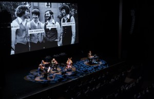"""A Thousand Thoughts: A Live Documentary with The Kronos Quartet and Sam Green"" at Guild Hall"