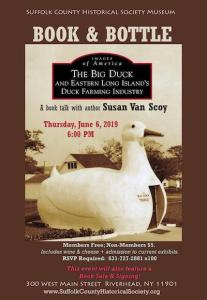 "Book & Bottle: ""The Big Duck & Eastern Long Island's Duck Farming Industry"" at Suffolk County Historical Society"