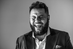 Comedian Mo Amer performs at Guild Hall