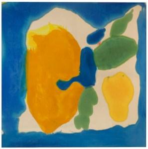"Helen Frankenthaler's ""Provincetown Window,"" acrylic on canvas, 1963-64"