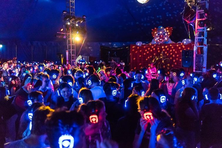 Silent Disco Outdoor Dance Party at the Southampton Arts Center