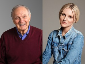 How to be a Badass with Alan Alda and Laura Brown at Guild Hall