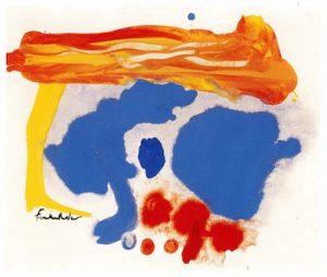 Helen Frankenthaler (American, 1928–2011), Summer Scene: Provincetown, 1961.