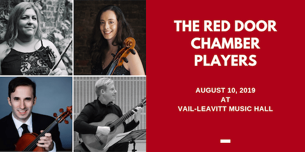 The Red Door Chamber Players at the Vail-Leavitt Music Hall