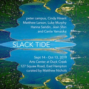 """Opening Reception for """"Slack Tide"""" at The Arts Center at Duck Creek"""