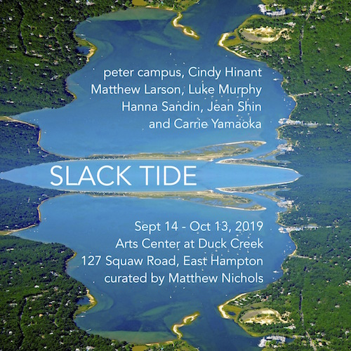 "Opening Reception for ""Slack Tide"" at The Arts Center at Duck Creek"