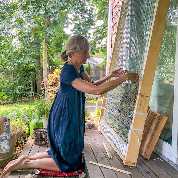 Consider Where We Are: Weaving with Laurie Lambrecht at Guild Hall