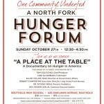 CAST Hunger Forum