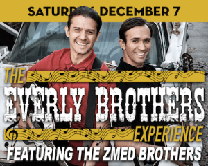 The Everly Brothers Experience with The Zmed Brothers at The Suffolk Theater