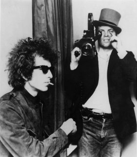 "Shooting ""Dont Look Back"" with Bob Dylan."