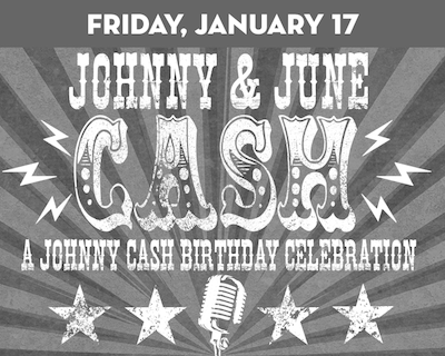 Johnny & June: A Johnny Cash Birthday Tribute at Suffolk Theater