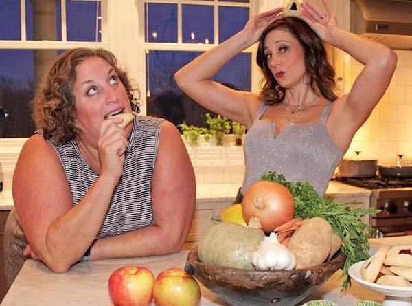 """Amy Kirwin and Rebecca Edana daydream about the possibilities of their new project, """"Two Jews Making Food"""""""