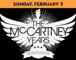 The McCartney Years performs at The Suffolk Theater