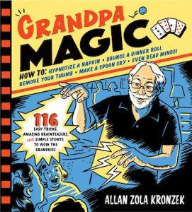 "Allan Zola Kronzek Signs his Book ""Grandpa Magic"" at Romany Kramoris Gallery"