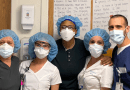 Staff Members at Peconic Bay Medical Center in Riverhead prepared to receive Covid-19 patients.