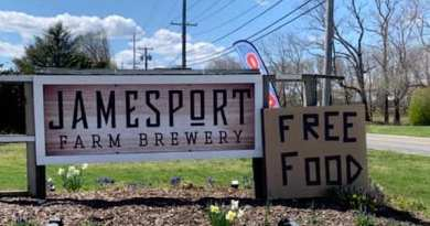 At the Jamesport Farm Brewery