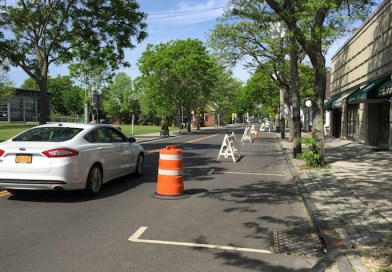 Greenport Village did a trial run of potential future parking restrictions the last weekend in May, designed to encourage social distancing.
