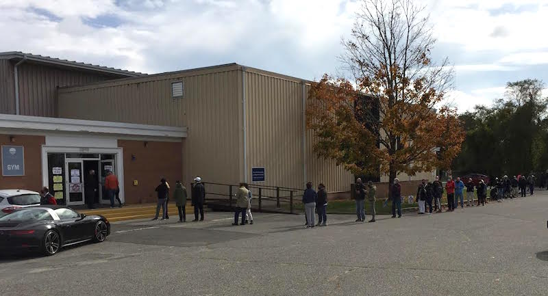 Stony Brook Southampton Early Voting Site