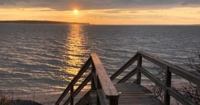 Nassau Point sunset