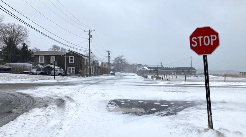 New Suffolk, snowstorm