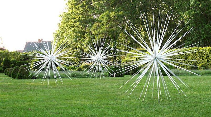 """Norman Mooney's """"Windseeds"""" at Bridge Gardens."""