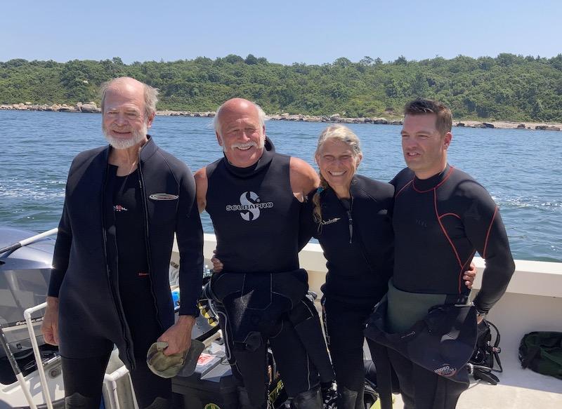 The Innerspace Scientific Diving Crew
