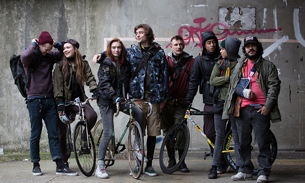 Cycling thiller: Alleycats. Photograph: Christina Solomons
