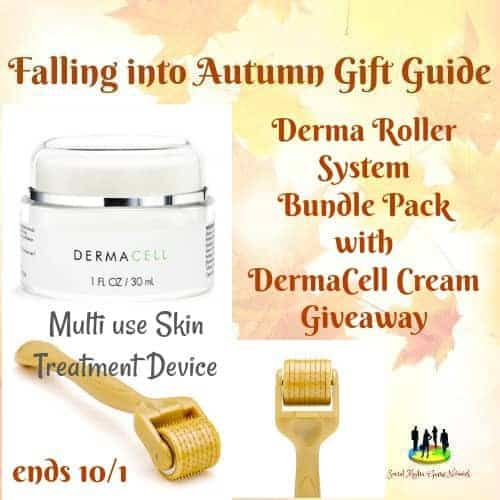 Derma Roller System Bundle Pack with Derma Cell Cream