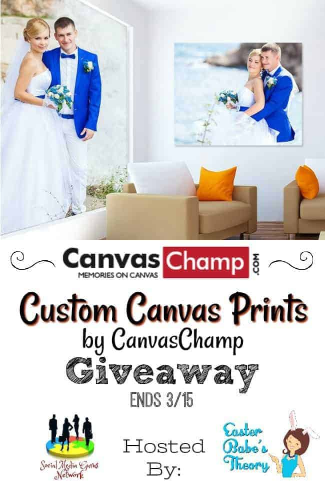 Custom Canvas Prints by CanvasChamp