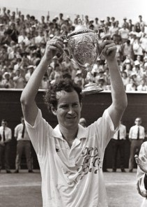 John McEnroe, Grasscourt Championship, Craiglockhart 1989. © Johnston Press PLC
