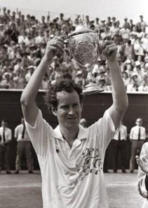 John McEnroe, Grasscourt Championship, Craiglockhart 1989. © Johnston Press PLC