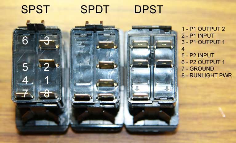Dpst Switch Wiring Diagram