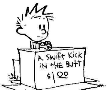 Calvin kick