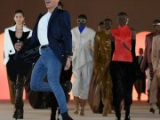 Balmain Olivier Rousteing breaks bourgeois codes in a parade in Paris