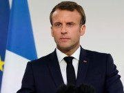 In Shanghai Macron calls for European play against China scaled e1582195816802