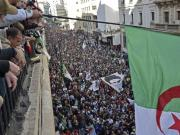 Unexpected protest overwhelms Algeria a year ago