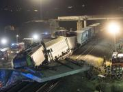 Train driver dies in a freight train accident in Auggen