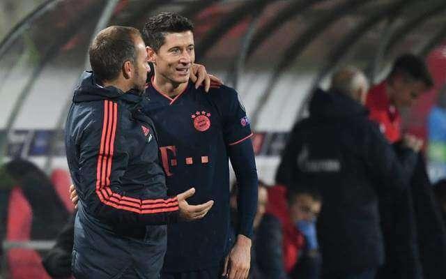 Flick trusts Lewandowski Müller's 40-goal mark: