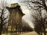 Vienna and the flak towers from the Third Reich