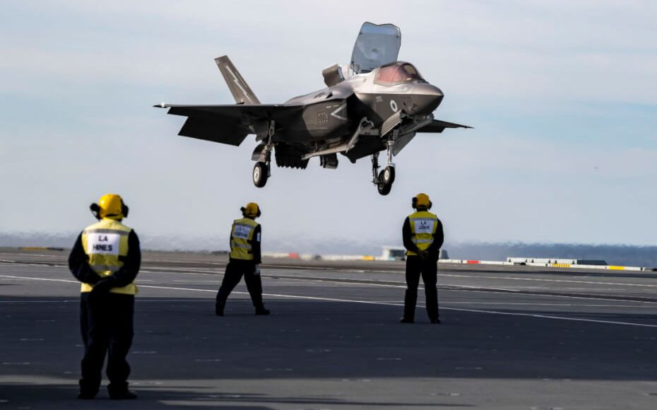They put a speed limit on the new F-35 because it can lose its tail