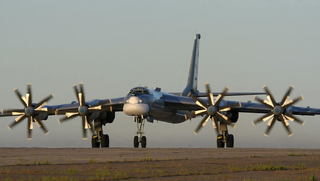 The United States reports the interception of two groups of Russian