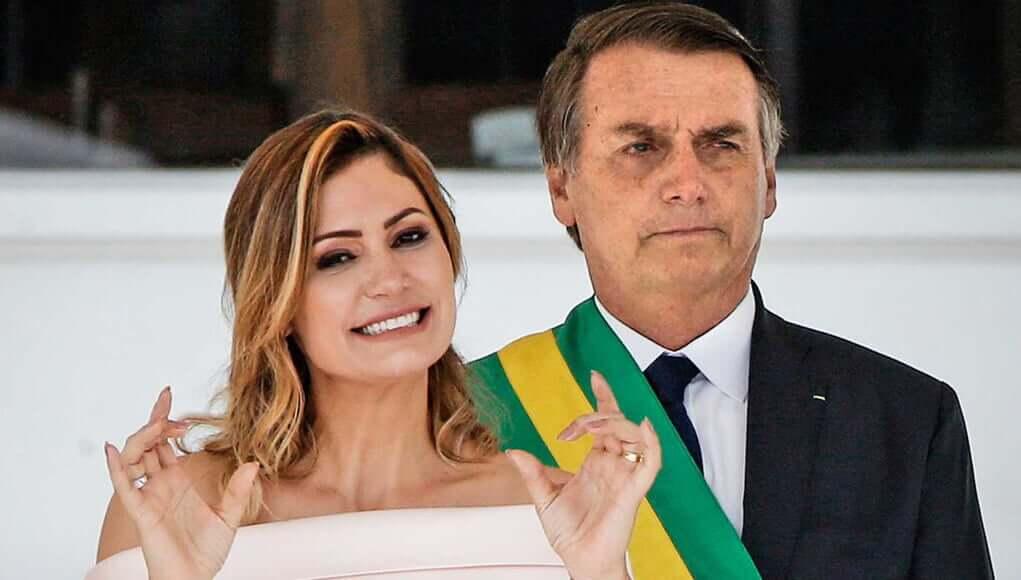 Michelle de Paula Firmo, jair bolsonaro wife, coronavirus news, covid infection, world news, breaking news, latest news; The Eastern Herald News