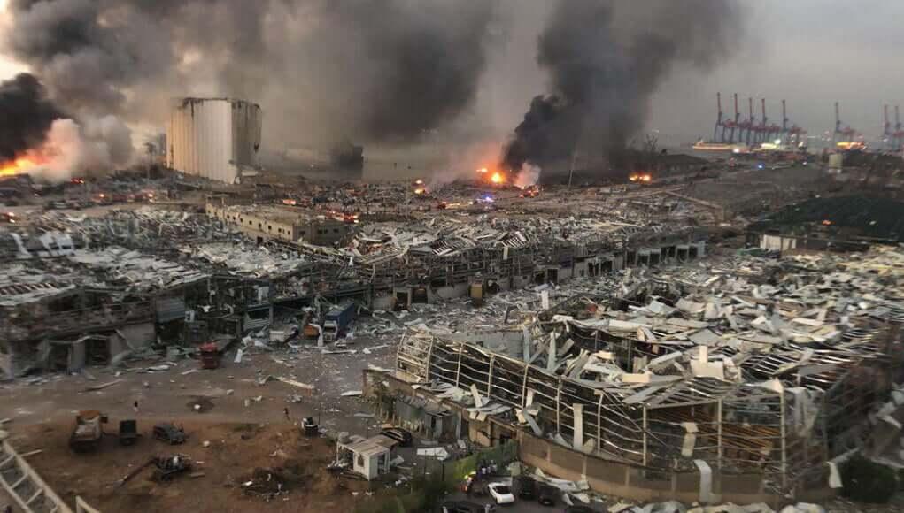 lebanon news, beirut explosion, beirut bomb blast, arab world news, terrorist attack on lebanon, terror attack in beirut, military news, world news, breaking news, latest news; The Eastern Herald News