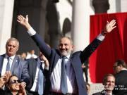 Armenian Prime Minister Nikol Pashinyan addresses the nation