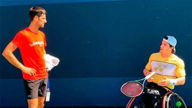 Emotional praise for Djokovic to Argentinean Gustavo Fernandez